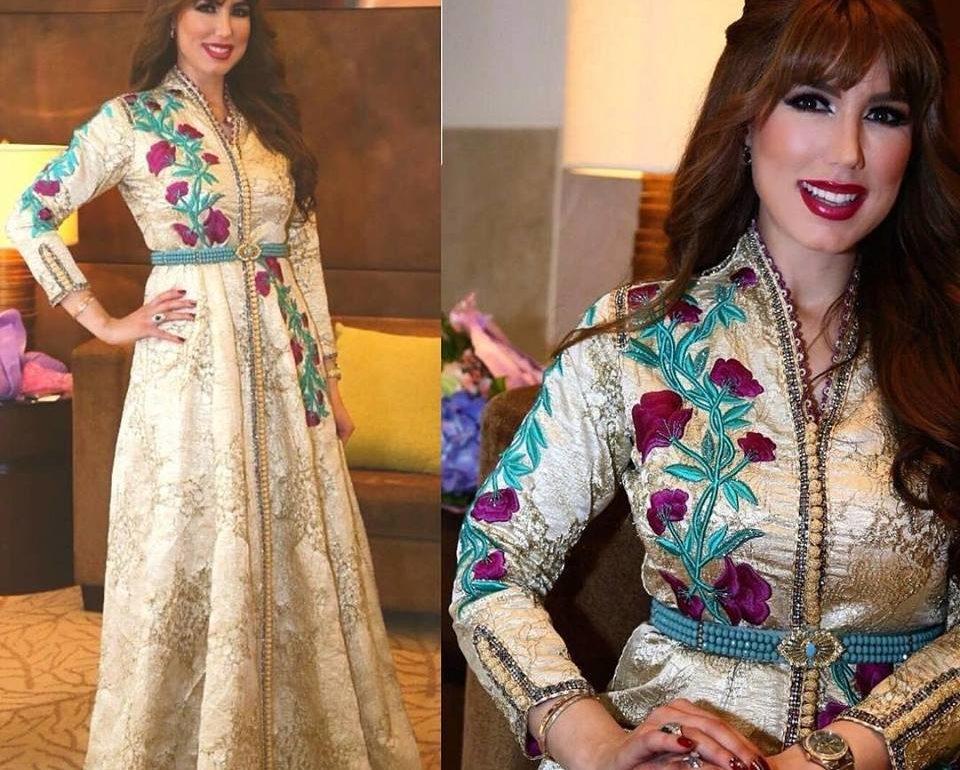 Nouveaux modèles du caftan marocain haute couture 2019 - Caftan Maroc c152ac777e2