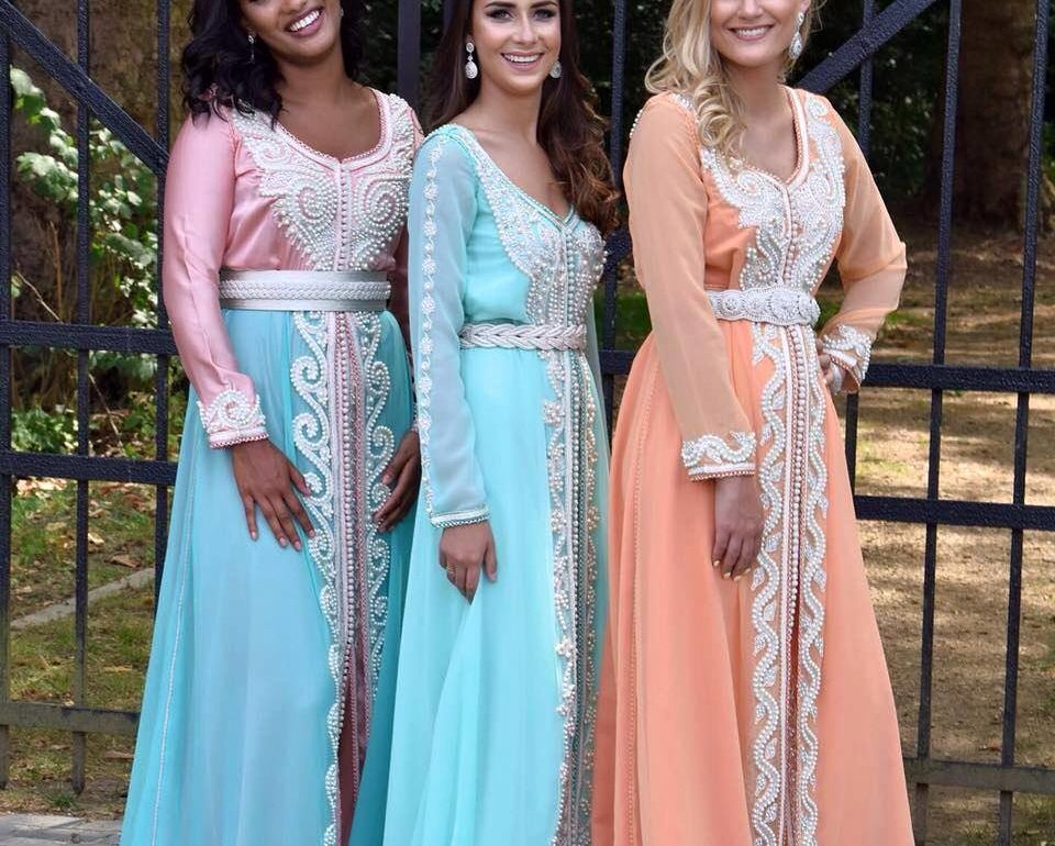 Tenues marocaines de luxe 2019 pour mariage - Caftan Maroc fe897f499fb