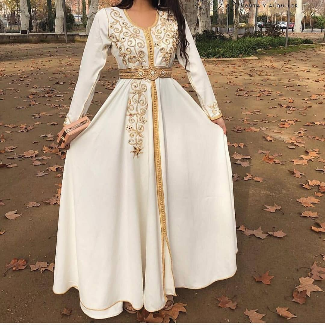 Caftan de mariage 2019 pour jeunes filles