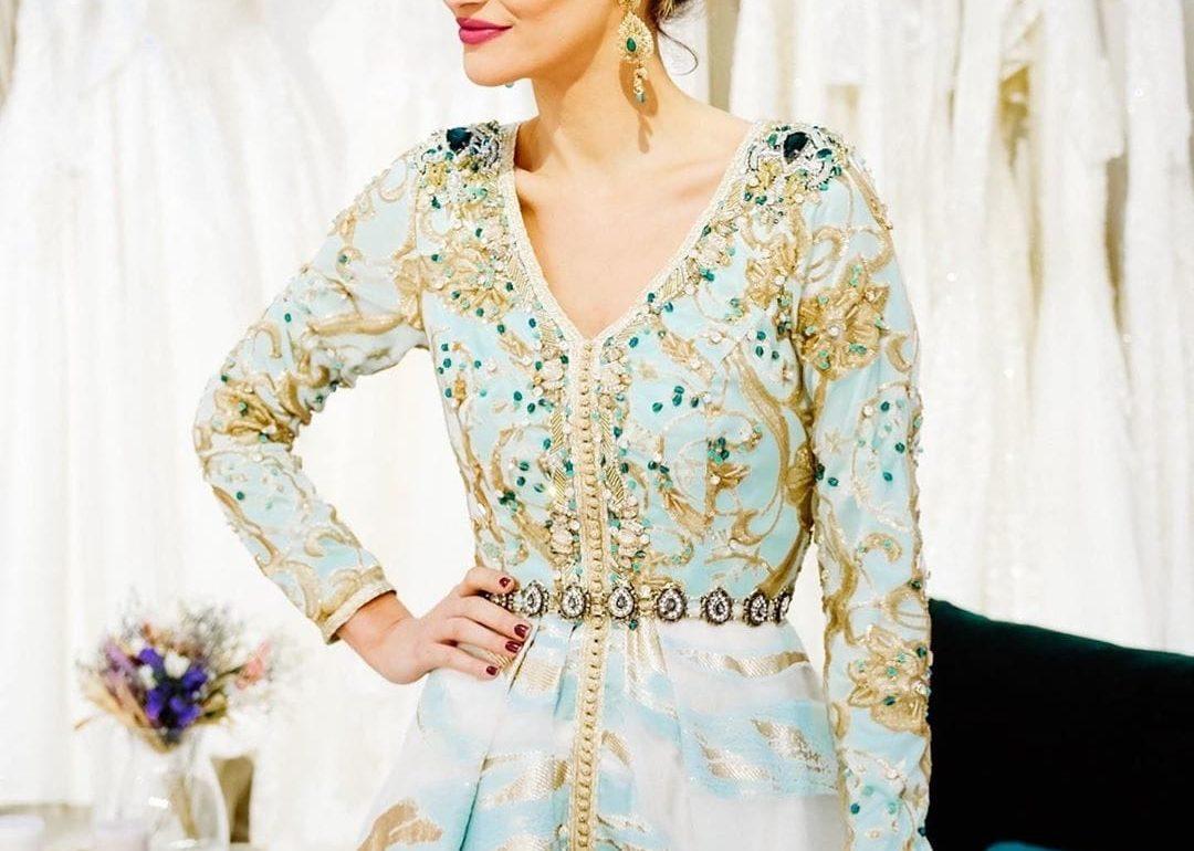 a66fa1af640 Vente robe marocaine pour mariée Paris - Caftan Maroc